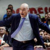 El entrenador del Valencia Basket, Jaume Ponsarnau.