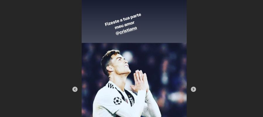 El mensaje de Katia Aveiro en Instagram