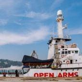 buque de Open Arms