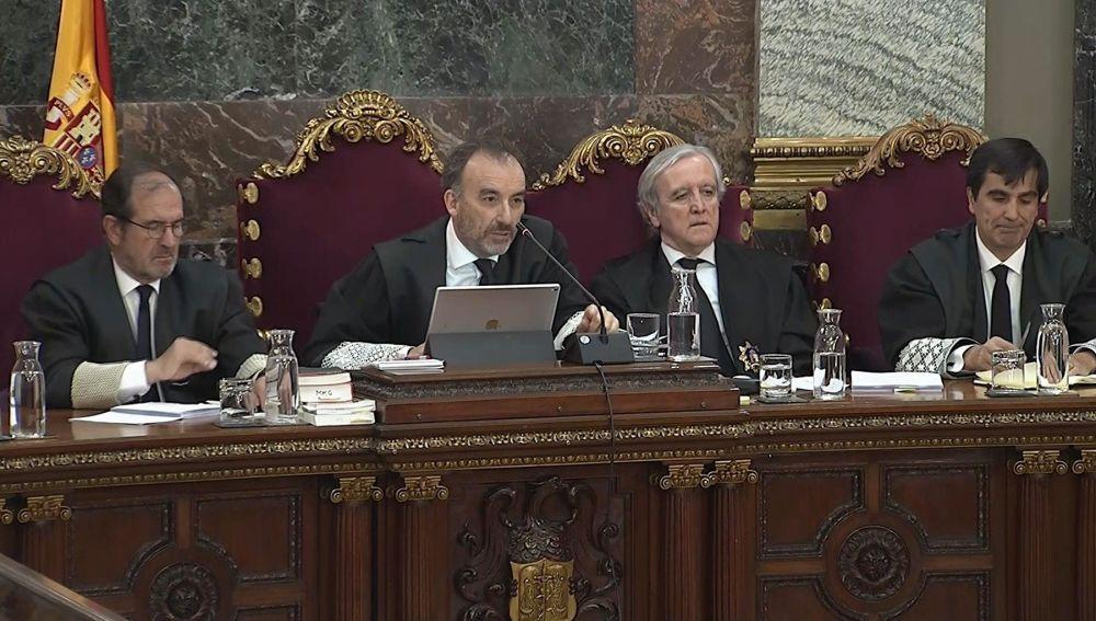 Tribunal del juicio al 'procés'