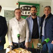 Paco Gil, Paco Moyano y Pepe Sánchez