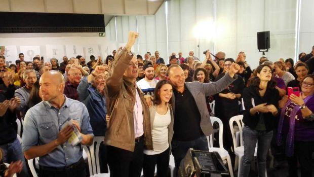 Irene Montero, de Unidas Podemos, en el centro de congresos de Elche.