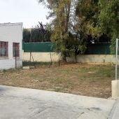 Espacio en la pedanía de Matola donde Ilicitanos por Elche plantea crear una zona de juegos infantiles.