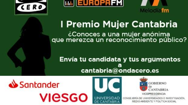 Erika Vásquez, candidata al Premio Mujer Cantabria