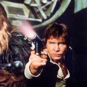 Harrison Ford y Peter Mayhew en 'Star Wars'