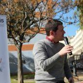 Ignasi García, candidato a la alcaldía de Castellón.