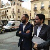 Juan Antonio Sempere y David Caballero, concejales no adscritos en Elche.