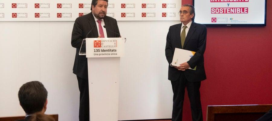 Javier Moliner, presidente de la Diputación.