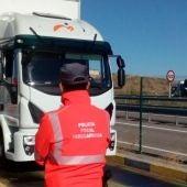 El conductor fue denunciado por la Policía Foral de Navarra
