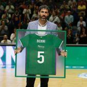 Berni Rodríguez, jugador del Unicaja