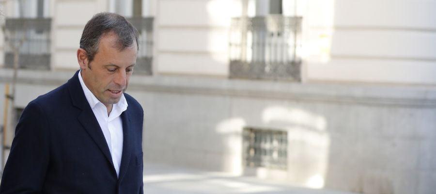 Sandro Rosell, expresidente del Barcelona