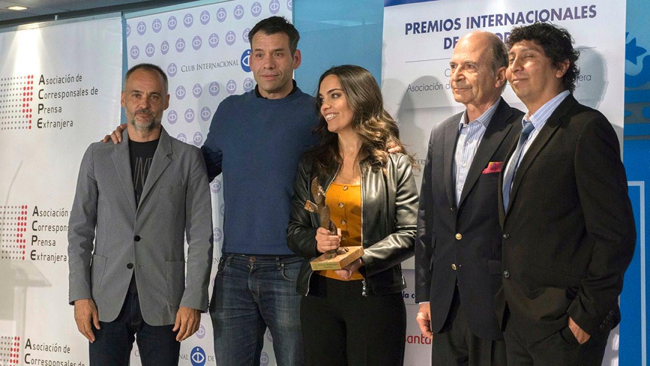 Carlos Alsina Recibe El Premio Periodismo Innovador De La