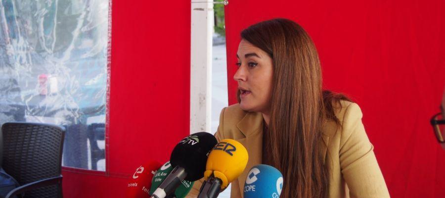 Mireia Mollà, candidata de Compromís per Elx a la Alcaldía.