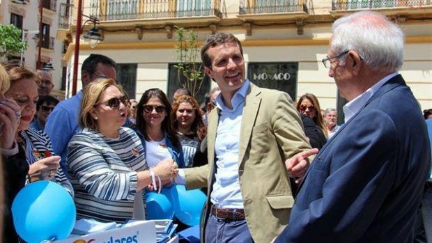 """Casado acusa a Sánchez de tener hecho """"el pacto de legislatura con Podemos y con ERC"""""""