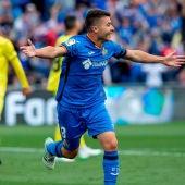 El jugador del Getafe Francisco Portillo.