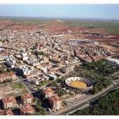Alcázar de San Juan vista aérea