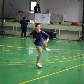 Julia Arribas, patinadora del Club Siluetas Elche.