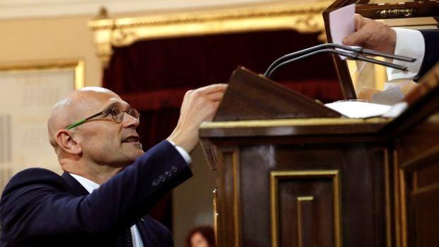 Raúl Romeva, senador electo de ERC en prisión preventiva