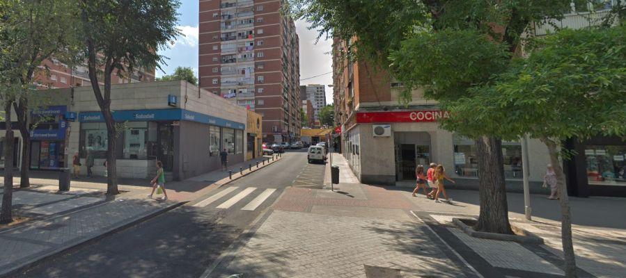 Imagen del Barrio del Pilar en Madrid