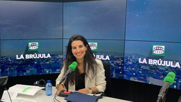 """Rocío Monasterio: """" """"No puede ser que los niños no sepan quién es Adolfo Suárez y sean especialistas en fetichismo con los pies"""""""