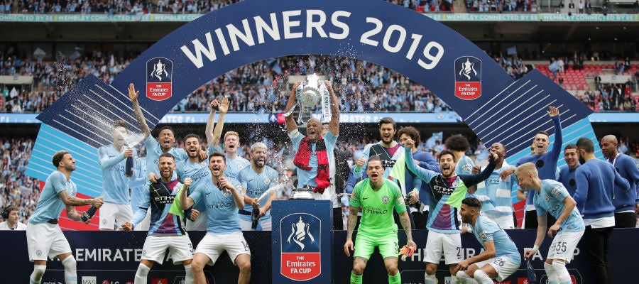 El Manchester City, campeón de la Premier League 2017/2018