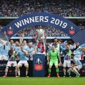 El Manchester City, campeón de la Premier League 2017/2018