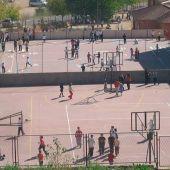 Pulgas en el colegio Cayetano Bolívar de Málaga