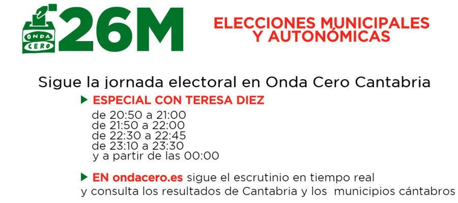 Elecciones Municipales y Autonómicas en Onda Cero Cantabria