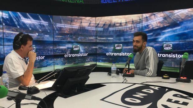 """Borja Iglesias: """"A día de hoy sólo pienso en el Espanyol y en jugar las previas de Europa League"""""""