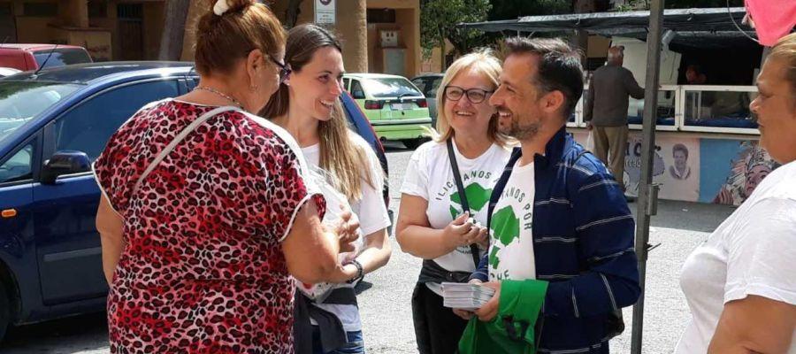 Cristina Martínez y Fernando Durá, de Ilicitanos por Elche.