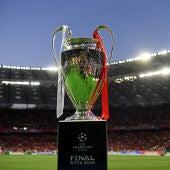 El trofeo de la Champions League