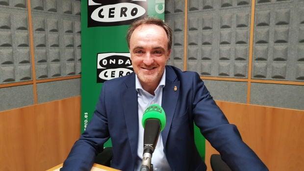 """Javier Esparza (Navarra Suma): """"Que Chivite plantee a Barkos que renuncie a sus principios identitarios es ciencia ficción"""""""