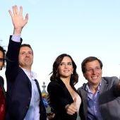 Los candidatos del PP a las elecciones generales.