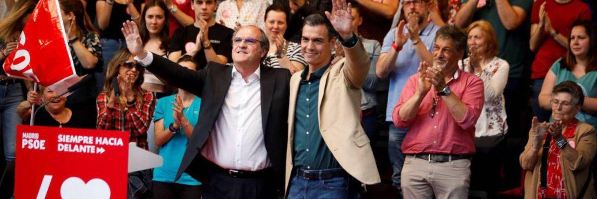 """Sánchez ha llamado a llenar las urnas: """"No podemos dejar la faena a medias"""""""