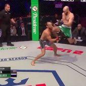 El letal rodillazo a los diez segundos de combate que ya es historia de la MMA