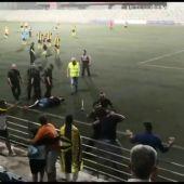 Un detenido tras una pelea multitudinaria en un partido de fútbol en Alcalá de Guadaíra