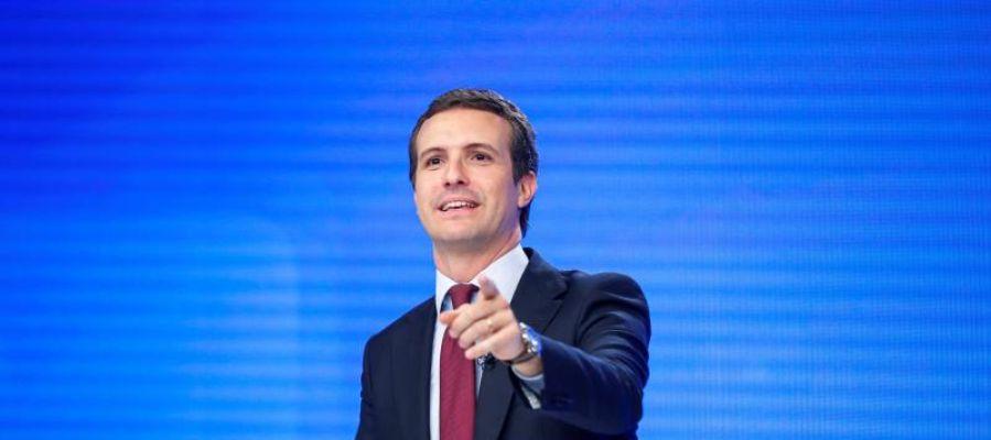 Casado insta a Sánchez a explicar el pacto con Bildu en Navarra: Está dejando claro con quién quiere ser investido