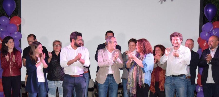 Juan Pedro Yllanes, candidato de Unidas Podemos al Parlament balear.