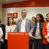 El socialista José Hila, ganador de las elecciones en Cort
