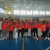 El Club Shotokan Carrús logra nueve medallas en la Liga Autonómica de karate.