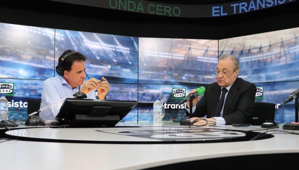 Florentino Pérez en Onda Cero