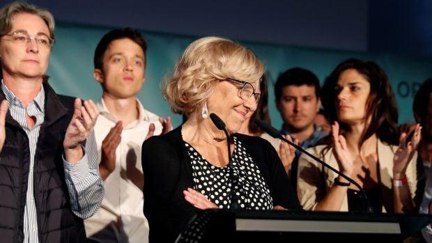 "Manuela Carmena: ""Es evidente que no voy a seguir como alcaldesa de Madrid"""