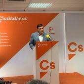 Hernández White valora los resultados de Ciudadanos Málaga el 26M