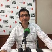 José Manuel Caballero, durante la entrevista en Onda Cero Ciudad Real