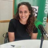 Laura Gozalo, técnico de Cáritas Segovia