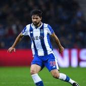 Felipe, durante un partido con el Oporto