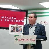 Ruiz Espejo denuncia que los presupuestos de la Junta no benefician a Málaga