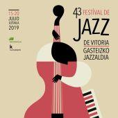 Cartel del festival de Jazz de Vitoria