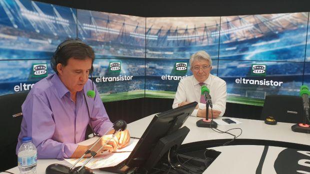 """Enrique Cerezo: """"Antic trajo su sonrisa a una época complicada del Atlético"""""""