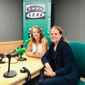 La directora comercial de Grupo Autovidal y presidenta de la Asociación balear de Empresas Familiares, Esther Vidal, en Onda Cero